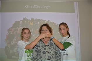Stop talking - start planting mit Kreisrätin Renate Glaser
